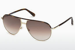 Ochelari oftalmologici Tom Ford Cole (FT0285 52K) - Maro, Dark, Havana