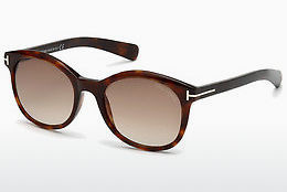 Ochelari oftalmologici Tom Ford Riley (FT0298 52F) - Maro, Dark, Havana