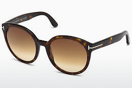Ochelari oftalmologici Tom Ford Philippa (FT0503 52F) - Maro, Dark, Havana