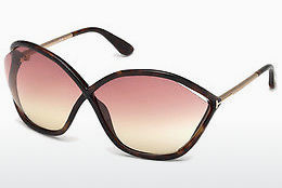 Ochelari oftalmologici Tom Ford Bella (FT0529 52Z) - Maro, Dark, Havana