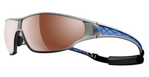 Adidas A190 6053 LST polarized silver H+silvermet/blue