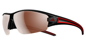 Adidas A412 6062 LST polarized silver H+matt black/red