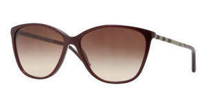 Burberry BE4117 326513 BROWN GRADIENTEGGPLANT