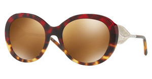 Burberry BE4191 36646H BROWN MIRROR GOLDRED HAVANA/LIGHT HAVANA