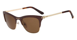 Calvin Klein CK8005S 223 BROWN