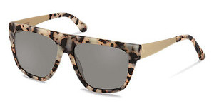 Claudia Schiffer C3011 D polarized - grey - 84%black white havana/ light gold
