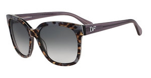 Diane von Fürstenberg DVF602S JULIANNA 001 BLACK ANIMAL