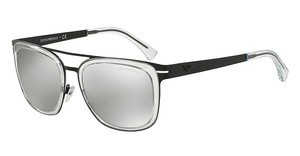 Emporio Armani EA2030 30016G LIGHT GREY MIRROR SILVERMATTE BLACK
