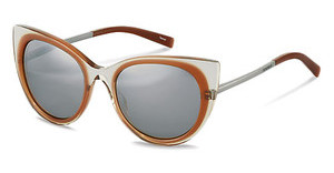 Jil Sander J0001 C silber titanium mirror 79%grey brown