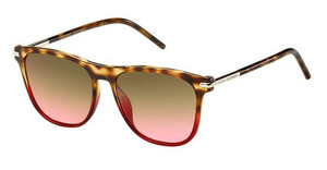 Marc Jacobs MARC 49/S TNN/FX BROWN CORALHVNBRWRED (BROWN CORAL)