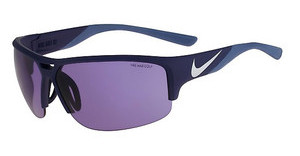 Nike NIKE GOLF X2 E EV0871 401 MATTE MIDNIGHT NAVY/SILVER WITH GOLF TINT LENS LENS