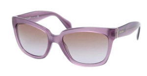 Prada PR 07PS MAV6P1 BROWN GRADIENTOPAL VIOLET