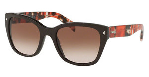 Prada PR 09SS DHO3D0 BROWN GRADIENTBROWN