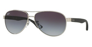 Ray-Ban RB3457 134/8G GRADIENT GREYSHINY SILVER