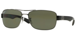 Ray-Ban RB3522 004/9A POLAR GREENGUNMETAL