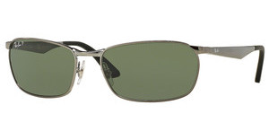 Ray-Ban RB3534 004/58 POLAR GREENGUNMETAL