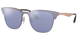 Ray-Ban RB3576N 90391U DARK VIOLET MIRROR SILVERBRUSCHED COPPER