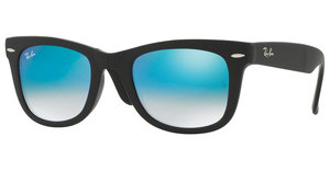 Ray-Ban RB4105 60694O MIRROR GRADIENT BLUEMATTE BLACK