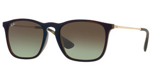 Ray-Ban RB4187 6315E8 GREEN GRADIENT BROWNTRASPARENT BROWN SP BLU