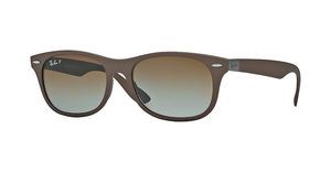 Ray-Ban RB4207 6033T5 GREY GRADIENT BROWN POLARMATTE BROWN