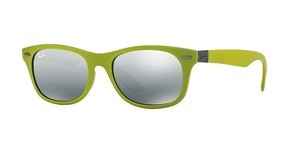 Ray-Ban RB4207 609988 GREY MIRROR SILVER GRADIENTMATTE ACID GREEN