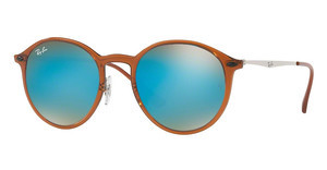 Ray-Ban RB4224 604/B7 GRADIENT BROWN MIRROR BLUEBROWN