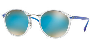 Ray-Ban RB4242 6289B7 BROWN GRADIENT MIRROR BLUETRASPARENT