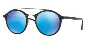Ray-Ban RB4266 601S55 LIGHT GREEN MIRROR BLUEMATTE BLACK