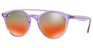 Ray-Ban RB4279 6280A8 LT BROWN MIRROR RED GRAD SILVIOLET