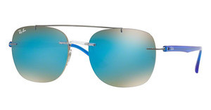 Ray-Ban RB4280 6289B7 GRADIENT BROWN MIRROR BLUETRANSPARENT