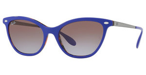 Ray-Ban RB4360 123668 VIOLET GRADIENT BROWNTOP VIOLET ON ORANGE HAVANA