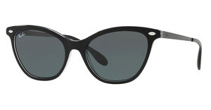 Ray-Ban RB4360 919/71 DARK GREENTOP BLACK ON TRASPARENT