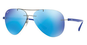 Ray-Ban RB8058 004/55 FLASH BLUEGUNMETAL