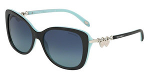 Tiffany TF4129 80559S AZURE GRADIENT BLUEBLACK/BLUE