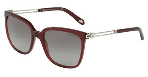 Tiffany TF4138 80033C GRAY GRADIENTOPAL DARK CHERRY
