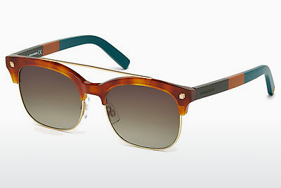 Ochelari oftalmologici Dsquared DQ0207 53K - Havana, Yellow, Blond, Brown