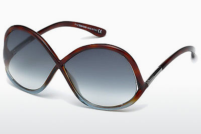 Ochelari oftalmologici Tom Ford Ivanna (FT0372 53W) - Havana, Yellow, Blond, Brown
