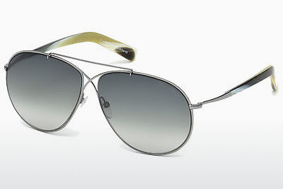 Ochelari oftalmologici Tom Ford Eva (FT0374 15B) - Gri, Shiny, Matt