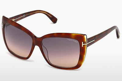 Ochelari oftalmologici Tom Ford Irina (FT0390 53F) - Havana, Yellow, Blond, Brown