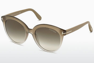 Ochelari oftalmologici Tom Ford Monica (FT0429 59B) - Fildeş, Beige, Brown