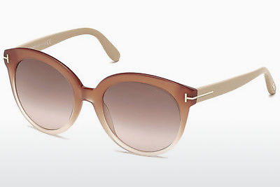 Ochelari oftalmologici Tom Ford Monica (FT0429 74F) - Roz, Rosa