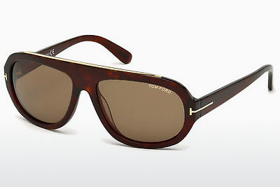 Ochelari oftalmologici Tom Ford Hugo (FT0444 54J) - Havana, Red