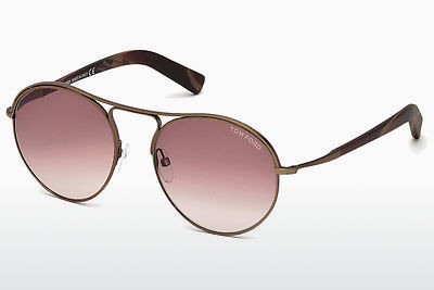 Ochelari oftalmologici Tom Ford Jessie (FT0449 49T) - Maro, Dark, Matt