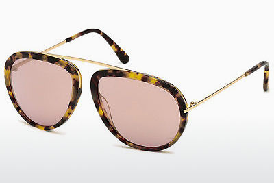 Ochelari oftalmologici Tom Ford Stacy (FT0452 53Z) - Havana, Yellow, Blond, Brown