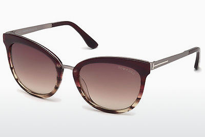 Ochelari oftalmologici Tom Ford FT0461 71F - Roşu burgund, Bordeaux