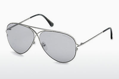 Ochelari oftalmologici Tom Ford Tom N.4 (FT0488-P 14C) - Gri, Shiny, Bright