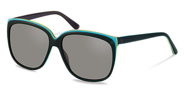 Claudia Schiffer C3013 C polarized - grey - 84%green turquoise layered