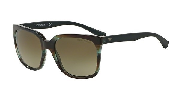 Emporio Armani EA4049 538813 BROWN GRADIENTSTRIPED GREEN