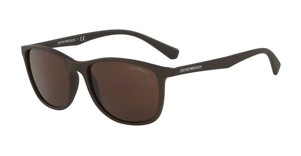 Emporio Armani EA4074 550373 BROWNMATTE BROWN