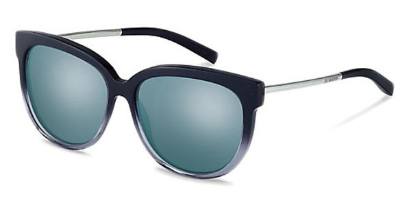 Jil Sander J3007 C grey blue mirror 83%dark blue grad
